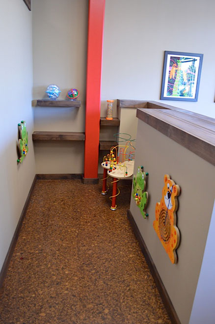 Office children's area - Lakeway Health and Wellness Chiropractic, Lakeway TX