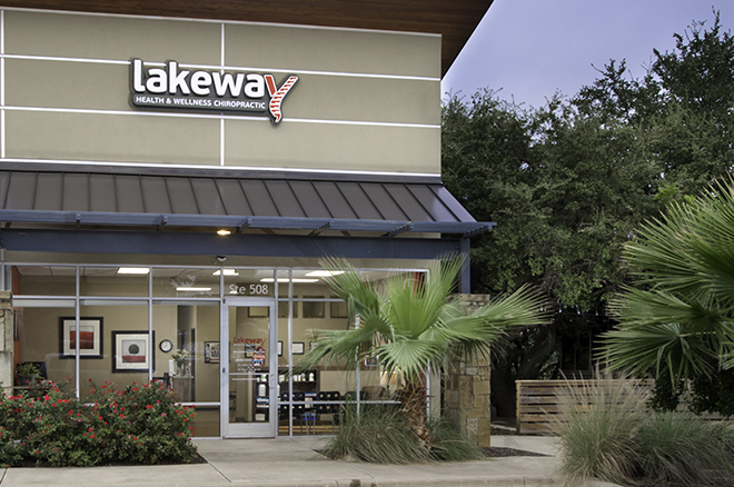 Office front tall - Lakeway Health and Wellness Chiropractic, Lakeway TX