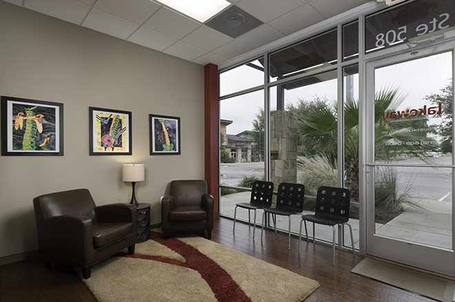 Office interior 3 tall - Lakeway Health and Wellness Chiropractic, Lakeway TX