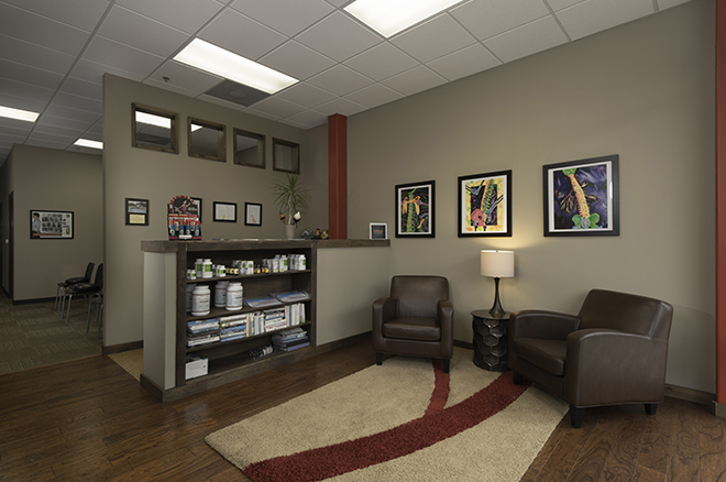 Office interior 2 tall - Lakeway Health and Wellness Chiropractic, Lakeway TX